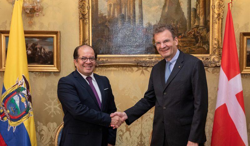 Ecuador and the Order of Malta