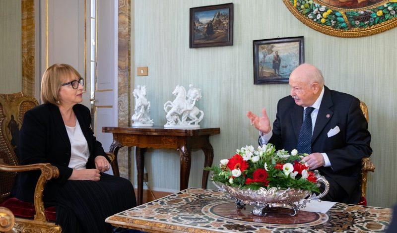 Ambasciatore d'Ucraina Tetiana Izhevska