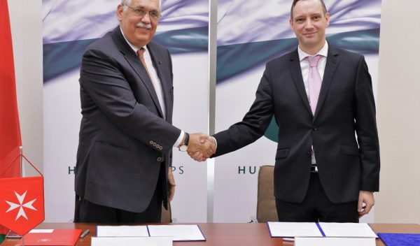 Order of Malta signs Memorandum of Understanding with Hungary