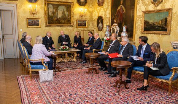 Courtesy visit of Prince El Hassan bin Talal