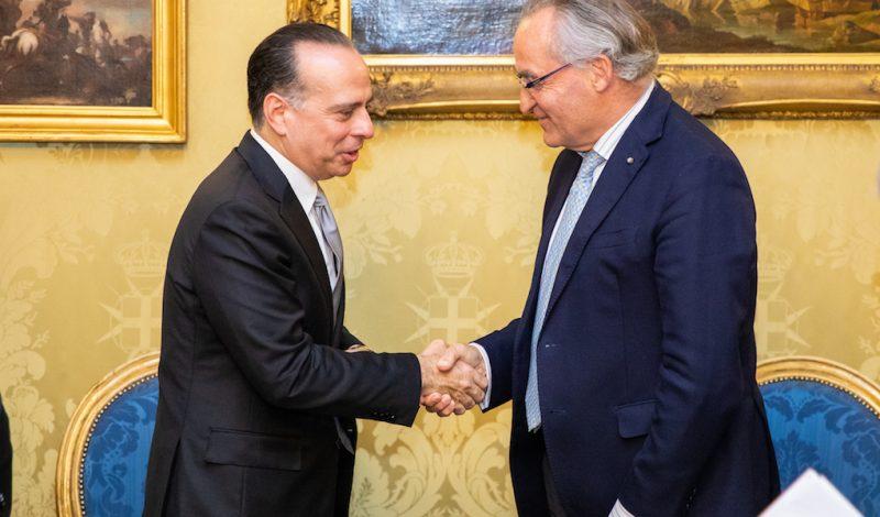 Visita del Ministro degli Esteri di Panama