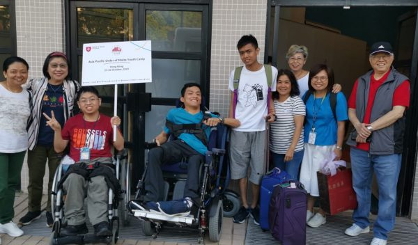 Asia Pacific camp for disabled youths