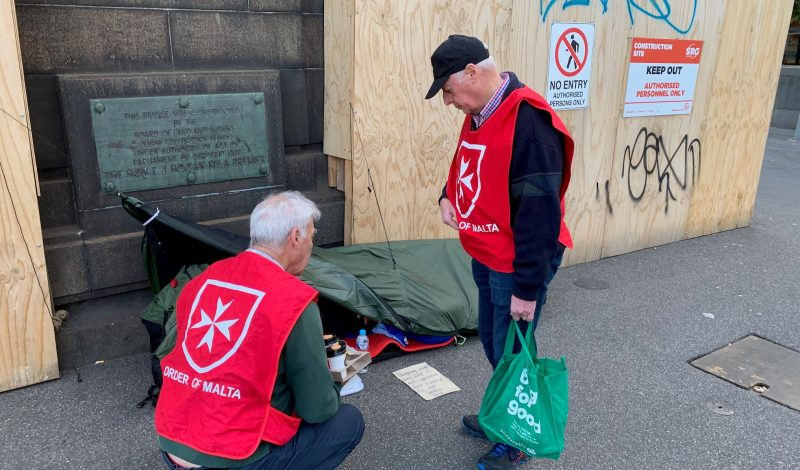 Order of Malta's activities during the third World Day of the Poor