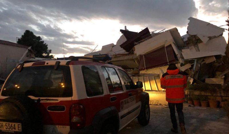 Terremoto Albania Albania Earthquake