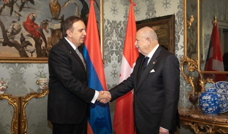 Credenziali di Armenia Georgia e Lettonia