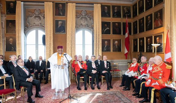 Speech dean of the diplomatic corps