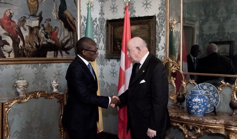 Gran Maestro visita ufficiale nella Repubblica del Benin