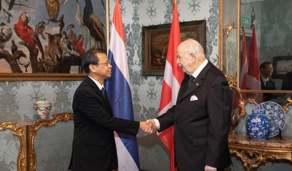 Credentials by Thailand and Bosnia and Herzegovina