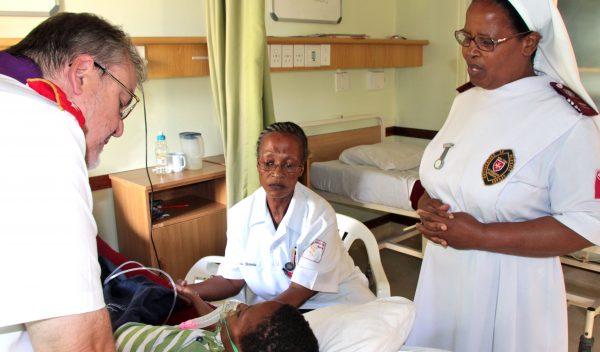 Padre Gérard Sudafrica Coronovirus