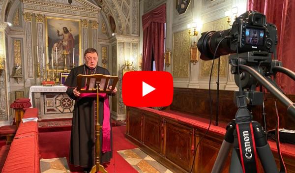 messaggio Pasqua atto di Consacrazione Ordine di Malta