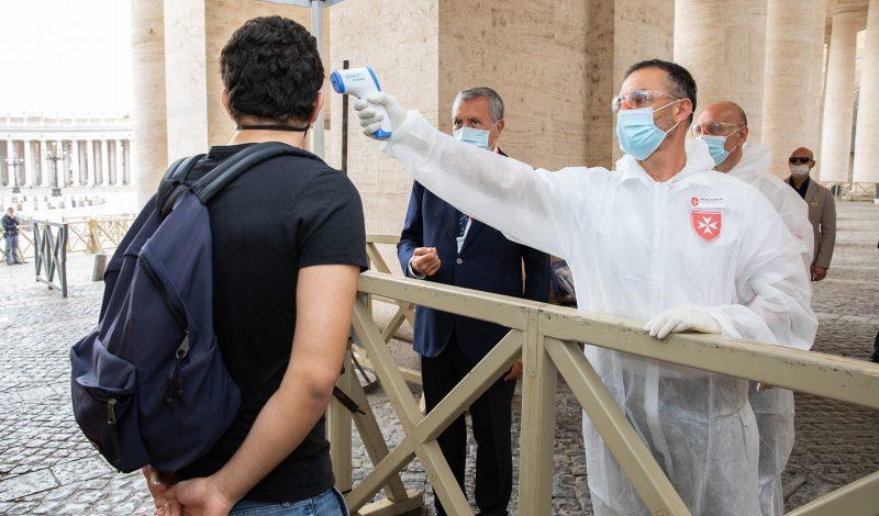 San Pietro volontari controlli sanitari