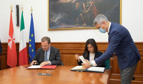 Ministero Trasporti italiano Ordine di Malta