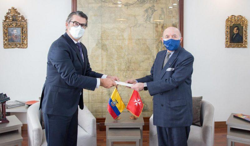 Ambassador Order of Malta Ecuador