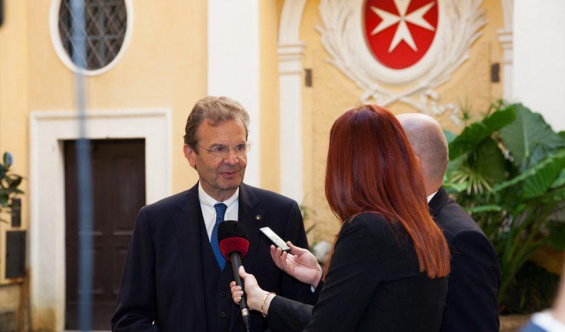Grand Chancellor Vatican Radio Order of Malta