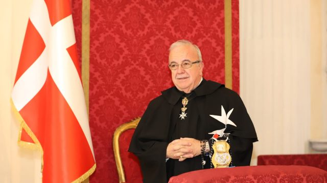 Fra' Marco Luzzago Lieutenant of Grand Master Order of Malta