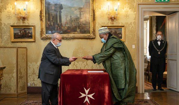 Discorso Decano Corpo diplomatico accreditato Ordine di Malta