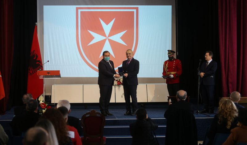 Premio Madre Teresa Albania Ordine di Malta