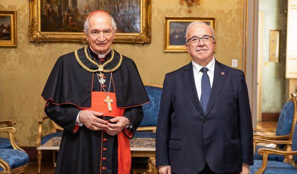 Cardinale Tomasi Balì Gran Croce di Onore e Devozione