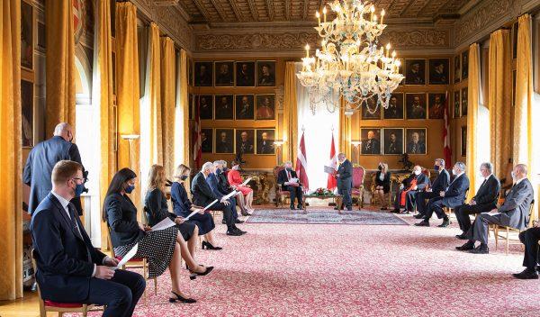 Presidente Lettonia Ordine di Malta