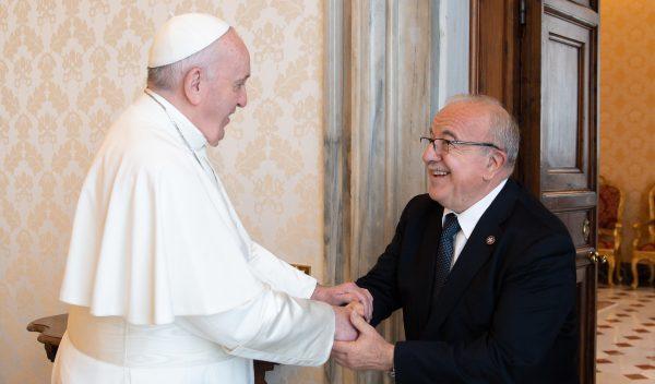 Papa Francesco Fra' Marco luzzago