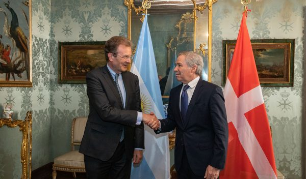 Argentine Foreign Affairs Minister Grand Chancellor Albrecht Boeselager