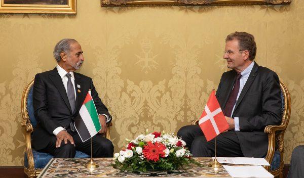 Sceicco Nahyan bin Mubarak Al Nahyan Ordine di Malta